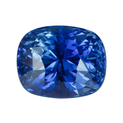 2.59 ct Cushion Cornflower Blue Sapphire Natural Unheated