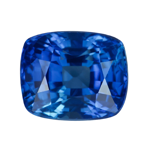 2.21 ct Cushion   Blue Sapphire Certified Unheated