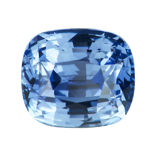2.71 ct Cushion Cut Blue Sapphire Unheated Ceylon