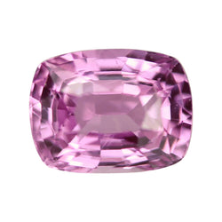 1.23 ct 6.43 x 4.91 x 3.93mm Mid Pink Cushion Cut Natural Unheated Sapphire