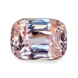 1.66	ct Pastel Peach Cushion Cut Natural Unheated Sapphire