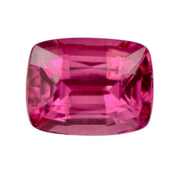 1.36 ct Vivid Pink Cushion Cut Natural Unheated Sapphire