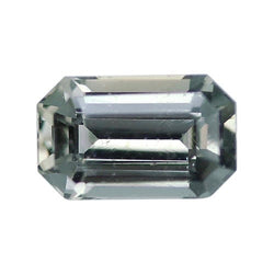 1.99 ct Olive Green Emerald Cut Natural Unheated Sapphire