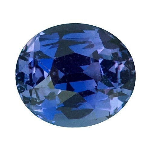 1.71ct Oval Indigo 	Sapphire Certified Unheated