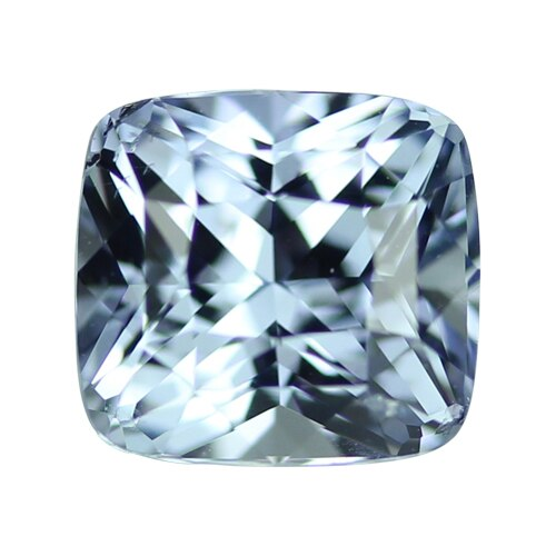 2.20 ct Cushion Light Blue Ceylon Sapphire Certified Unheated