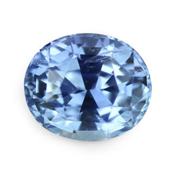 2.59 ct Vivid Blue Oval Cut Natural Unheated Sapphire