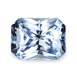 0.83 ct Silver Blue Natural Unheated Sapphire