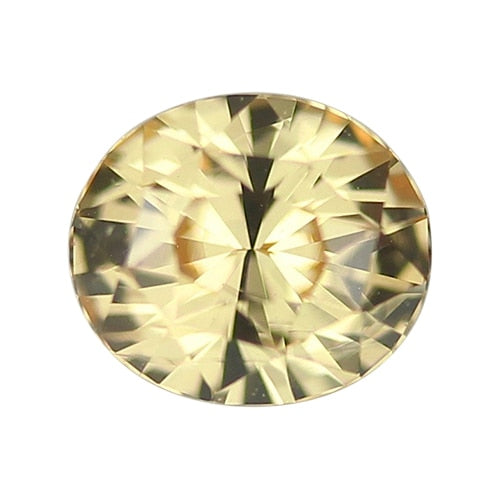 1.16 ct Apricot Oval Cut Natural Unheated Sapphire