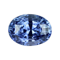 3.05 ct Bright Medium Blue Oval Cut Natural Unheated Sapphire