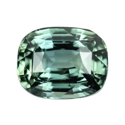 2.04 ct Olive Green Natural Unheated Sapphire