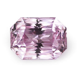 2.85 ct Pink Radiant Cut Natural Unheated Sapphire