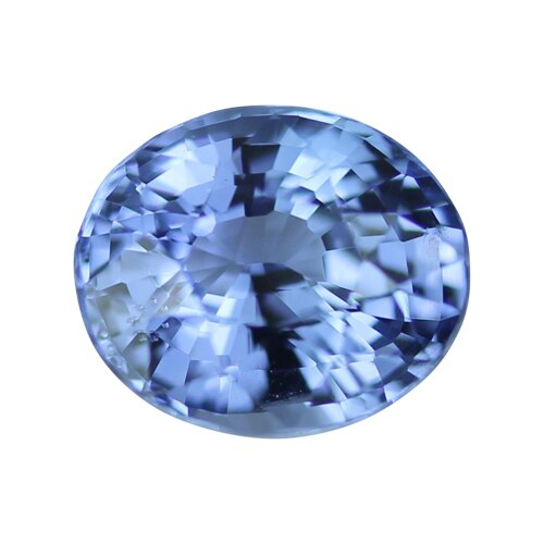 2.06 ct Oval Certified Blue Sapphire