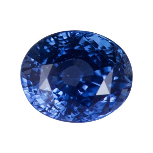 2.53 ct Oval Cornflower Blue Ceylon Natural Sapphire Unheated
