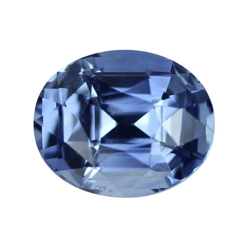 2.89 ct Certified Oval Blue Sapphire