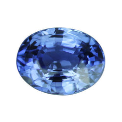 1.54 ct Medium Blue Oval Cut Natural Unheated Sapphire