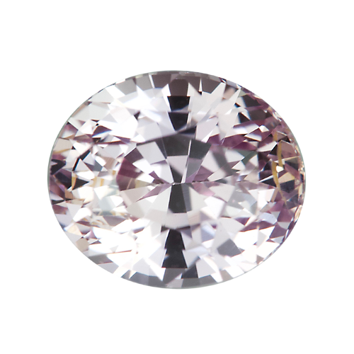 2.51 ct Peach Pink Oval Sapphire Natural Unheated