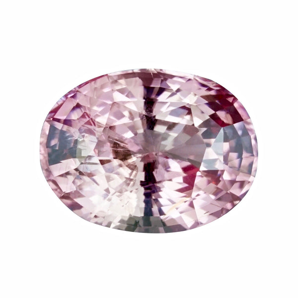 2.11 ct Peach Sapphire Oval Cut Unheated
