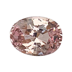 1.61 ct Natural Peach Sapphire Certified Unheated