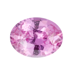 1.48 ct Vivid Pink Oval Cut Natural Unheated Sapphire