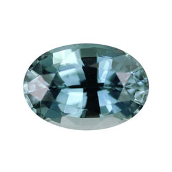 2.29 ct Teal Oval Cut Natural Unheated Sapphire