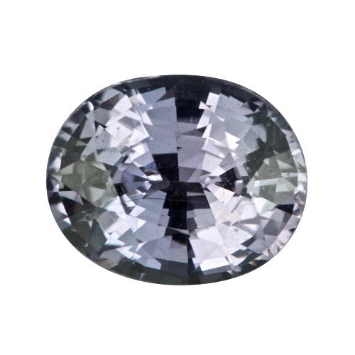 1.66 ct Violet Oval Natural Sapphire Unheated