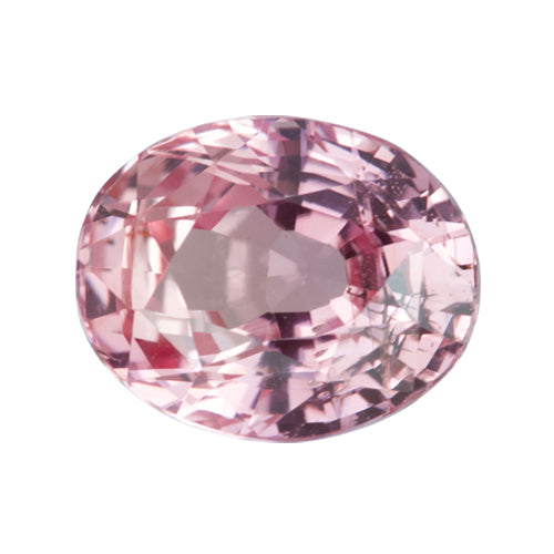2.10 ct Oval Orangish Pink Padparadscha Sapphire Certified Unheated