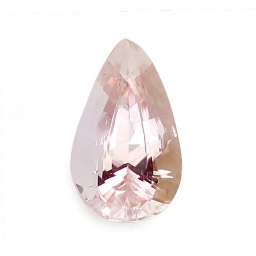 1.58 ct Padparadscha Pear Cut Natural Unheated Sapphire