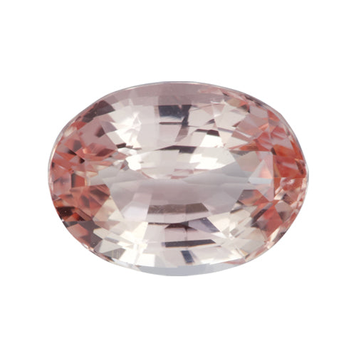 1.55 ct Oval Padparadscha Sapphire Certified Unheated