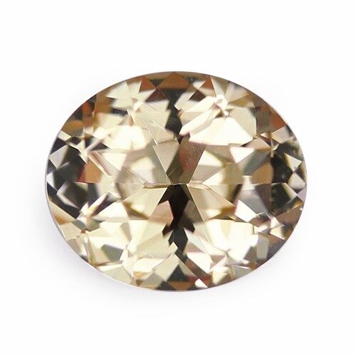 3.05 ct Peach Champagne Natural Unheated Sapphire