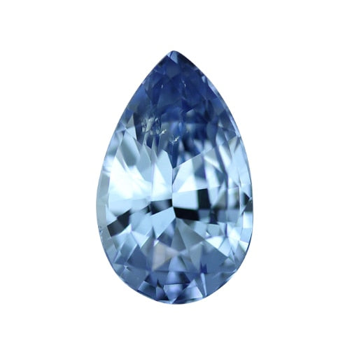 2.66 ct Blue Pear Cut Natural Unheated Sapphire