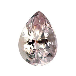 1.92 ct Pear Peach Sapphire Certified Unheated
