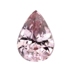 1.19 ct Pastel Light Pink Pear Cut Natural Unheated Sapphire
