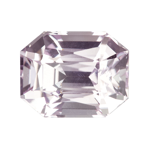 2.09 ct  Light Pastel Pink Sapphire Natural Unheated