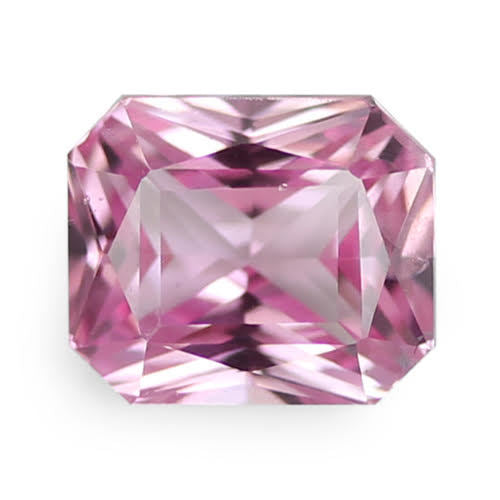 2.05 ct Pink Radiant Cut Natural Unheated Sapphire