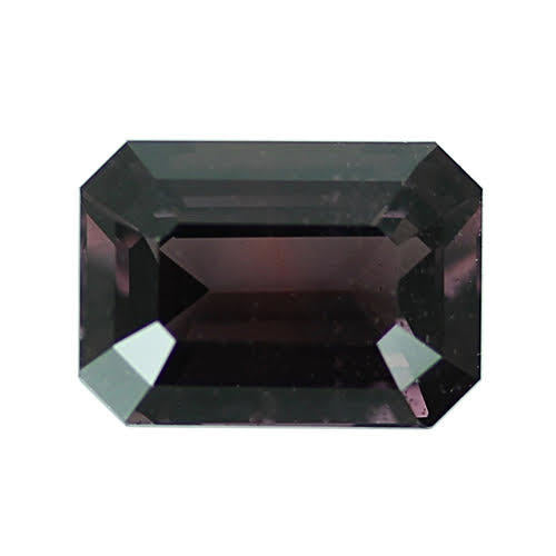 1.87 ct Chocolate Brown Emerald Cut Natural Unheated Sapphire