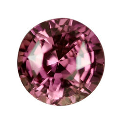 2.38 ct Round Pink Sapphire Certified Unheated