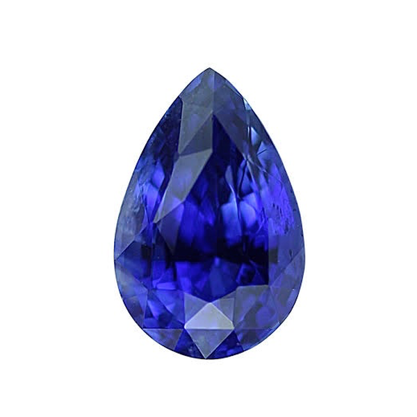 1.94 ct Royal Blue Pear Sapphire Heated