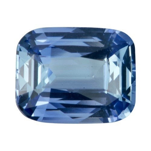 2.58 ct Cushion Sky Blue	Sapphire Certified Unheated