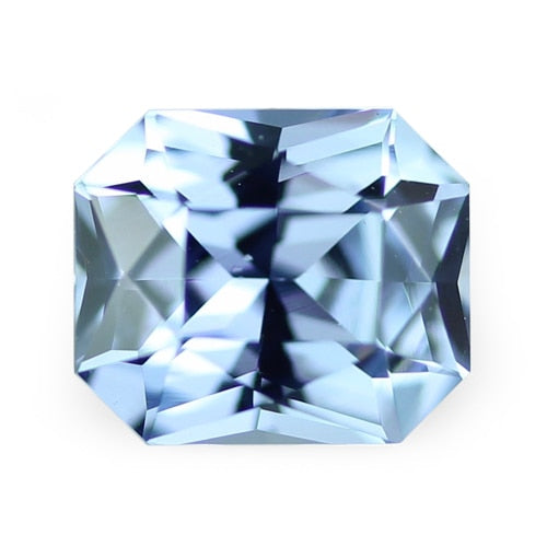 1.12 ct Sky Blue Radiant Cut Natural Unheated Sapphire