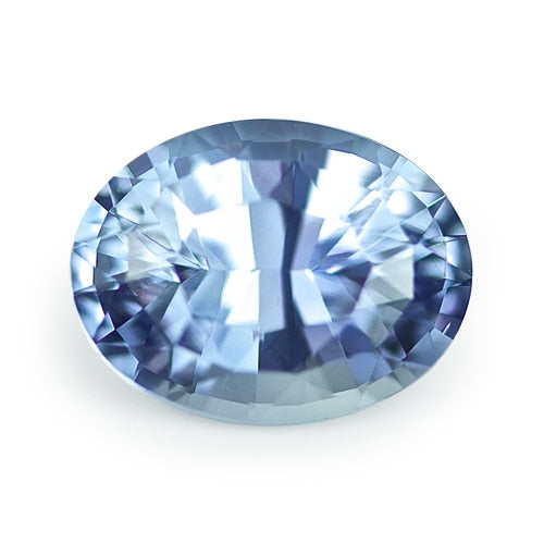 2.25 ct Blue Oval Cut Natural Unheated Sapphire