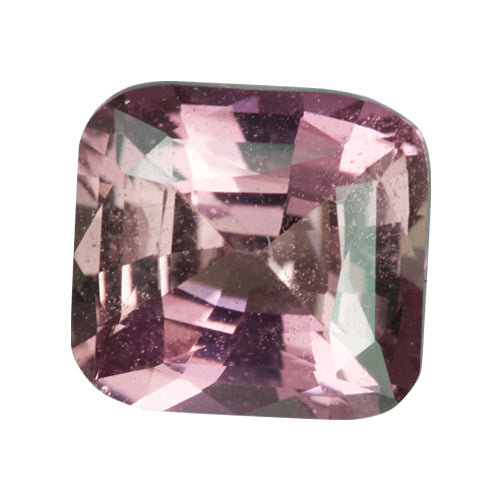1.61 ct Cushion Orangish Pink Sapphire Certified Unheated