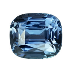 2.07 ct Blue Sapphire Cushion Cut Unheated Madagascar