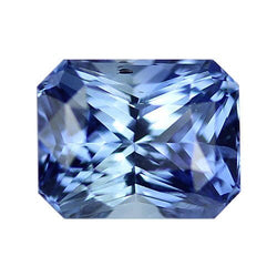 2.19 ct Mid Blue Radiant Cut Natural Unheated Sapphire