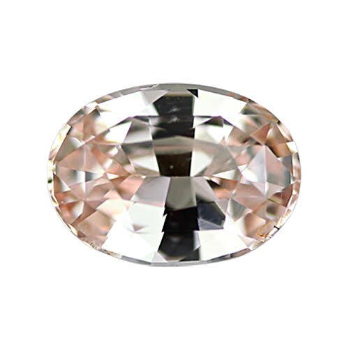 1.88 ct Oval Peach Sapphire Certified Unheated - ON HOLD