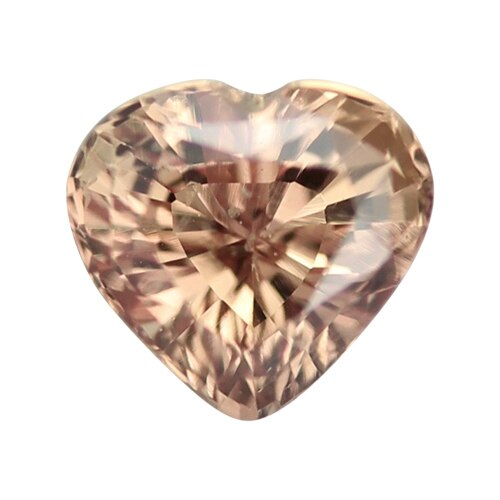 0.97 ct Bronze Heart Cut Natural Unheated Sapphire