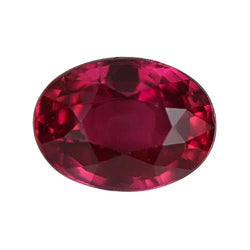 2.52 ct Vivid Red Ruby Certified Unheated Mozambique