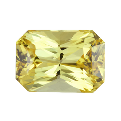 3.74 ct Vivid Yellow Sapphire Unheated Sri Lanka
