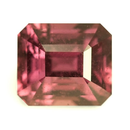 1.64 ct Emerald Cut Natural Unheated Sapphire