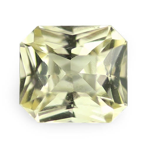 0.78	ct 5.40 x 4.89 x 3.19	mm Yellow Radiant Cut Natural Unheated Sapphire