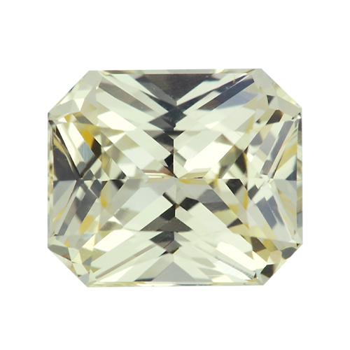 1.63 ct Yellow Sapphire Light Pastel Unheated Sri Lanka